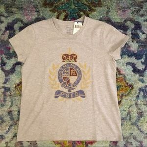 Ralph Lauren Polo Crest t-shirt women's